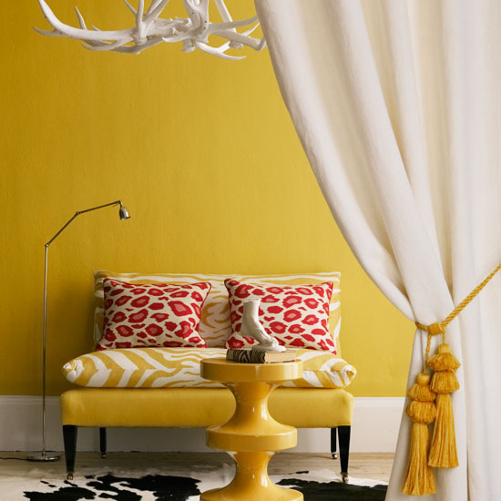 6 10 inspiring ideas colourful living rooms yellow living room 10 inspiring ideas: Colourful living rooms