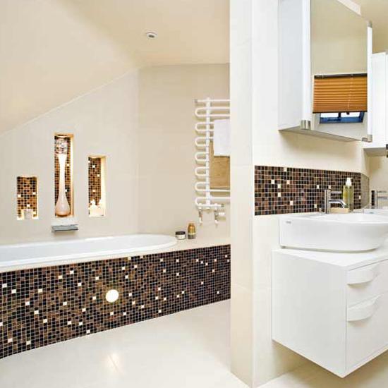 New Bathroom Style a new world of bathroom tile choices Decorating Ideas