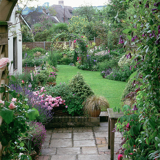 english country garden decorating style photograph country