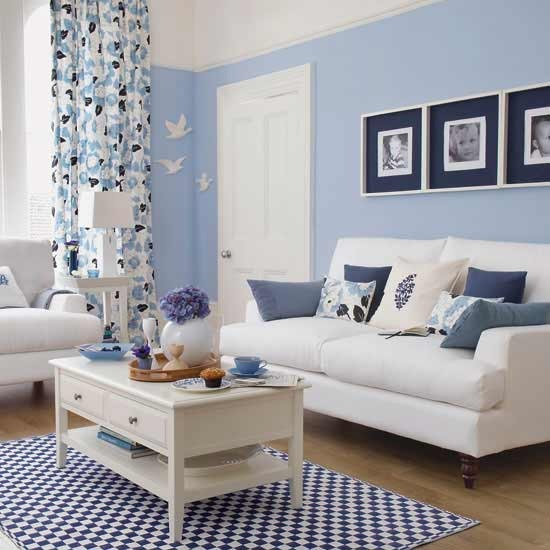 7 10 inspiring ideas colourful living rooms blue living room 10 inspiring ideas: Colourful living rooms