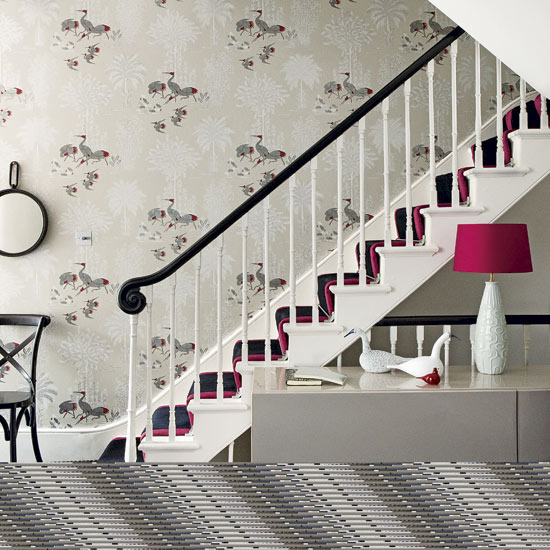 Wallpaper Designs For Hall : Wallpaper ideas for hallways