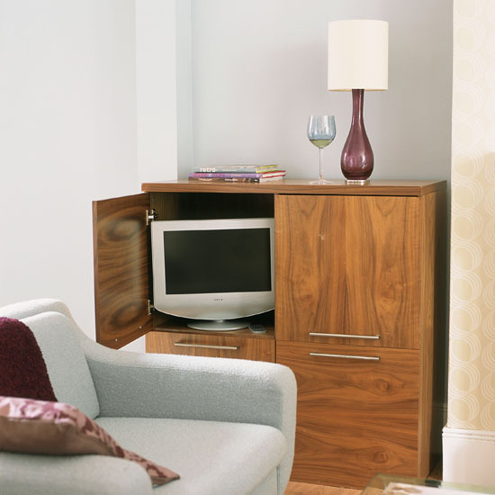 8 10 ways to disguise your tv country style cabinet 10 Ways to disguise your TV