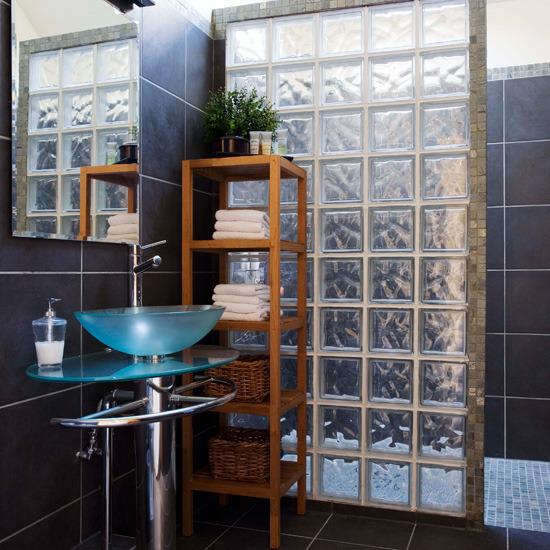 block shower wall bathroom remodel abode bathroom bathroom ideas