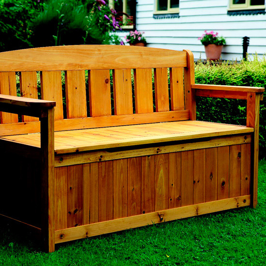 9-garden-storage-ideas-Garden-storage-bench | Home Interior Design ...