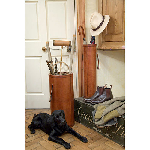 1 Leather umbrella stand by Ginger Rose Best 10: Umbrella stand ideas