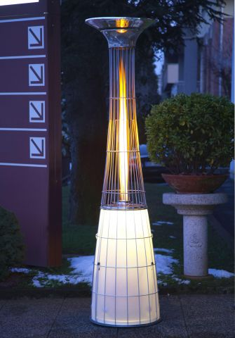 1 lightfire patio heater by alpina Lightfire patio heater by Alpina