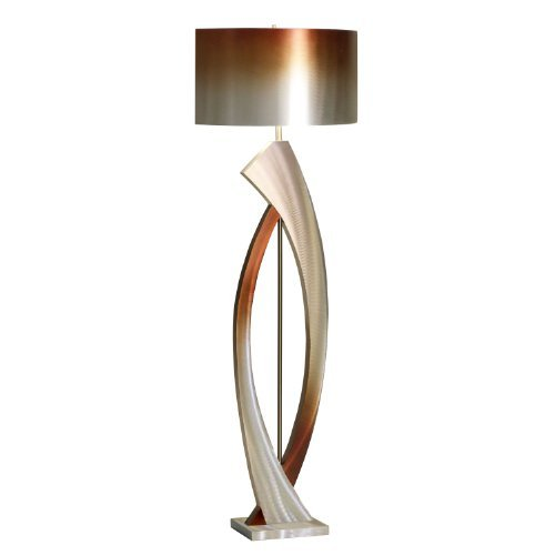 Contemporary Floor Lamps on Contemporary Floor Lamp By Nova Lighting Swerve Contemporary Floor