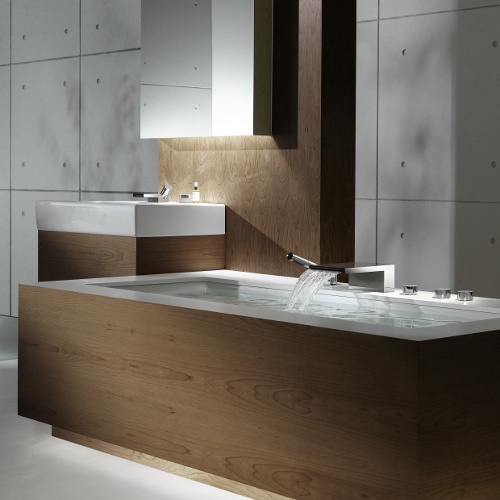 2 deque single lever basin mixer by sieger design DEQUE   Single lever basin mixer by Sieger Design