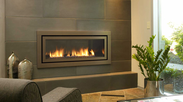 Modern Gas Fireplace Inserts 610 x 340