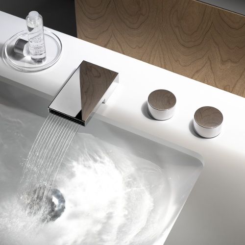 4 deque single lever basin mixer by sieger design DEQUE   Single lever basin mixer by Sieger Design
