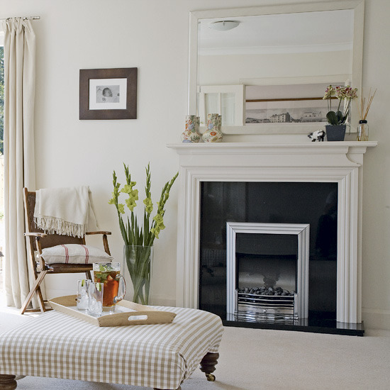 4 traditional white living room ideas Traditional white living room ideas