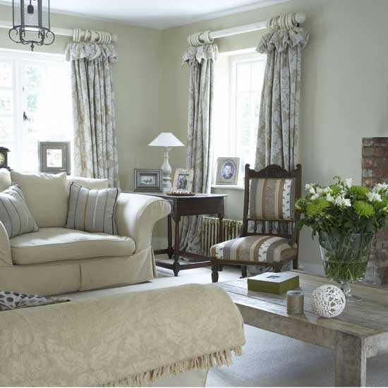 7 traditional white living room ideas Pale living room Traditional white living room ideas