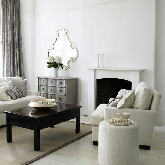 8-traditional-white-living-room-ideas-Indian summer living room ...