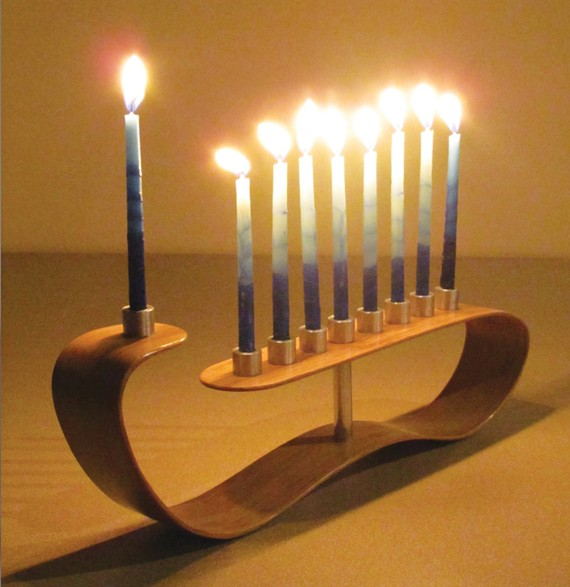 1 menorah candle holder by aaron z Menorah   candle holder by Aaron Z