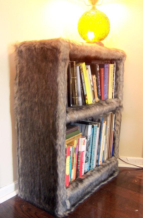 2-furry-faux-fur-bookshelf-by-modern-art-design | Home Interior ...