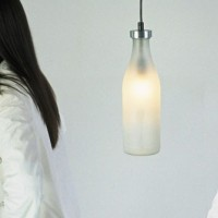 Milkbottle lamp by Droog Design