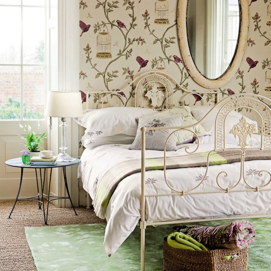 9-summer-bedroom-design-ideas-Vintage-style bedroom | Home ...