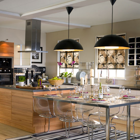 Add glamour to your kitchen