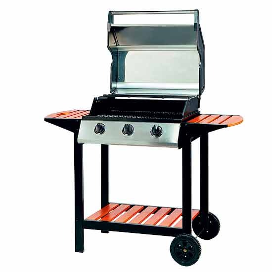 10 best 10 barbecues Three burner barbecue from Very Best 10: Barbecues