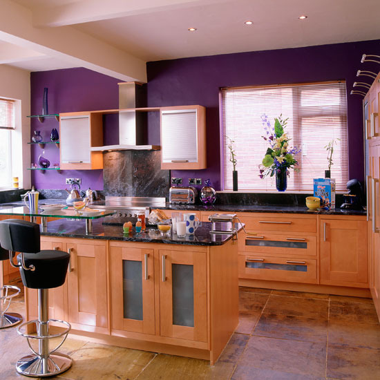 3 Glamorous kitchen Add colour to your scheme Add glamour to your kitchen