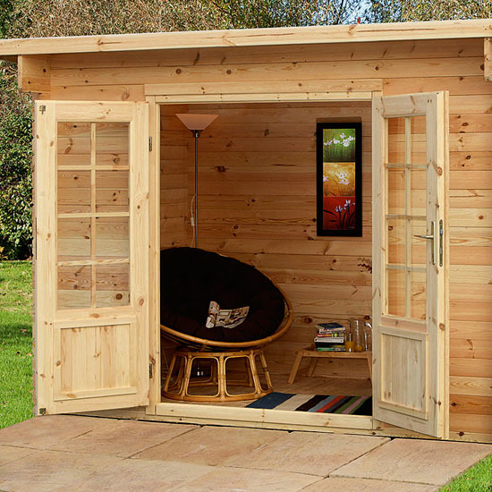 5-garden-sheds-and-summerhouses-Harwood Log Cabin from Focus ...