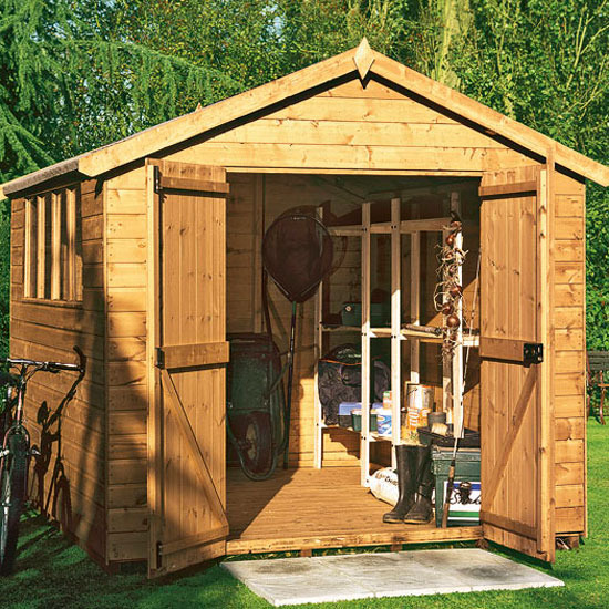9-garden-sheds-and-summerhouses-Apex Shiplap Workshop Shed from ...