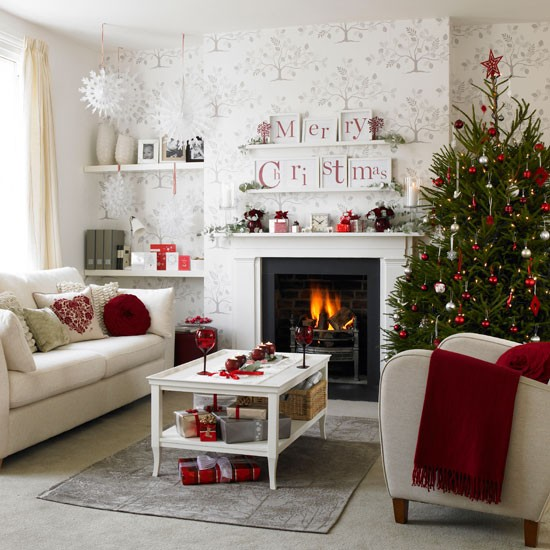 1 10 best christmas living room decorating ideas 10 Best Christmas living room decorating ideas.