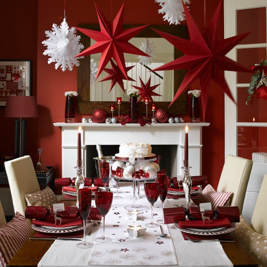 10 Ideas for Christmas Dining Room | Home Interior Design, Kitchen ...