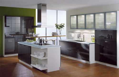 1 colourful kitchen design ideas part 3 Use Visual Tricks Colourful Kitchen Design Ideas, part 3
