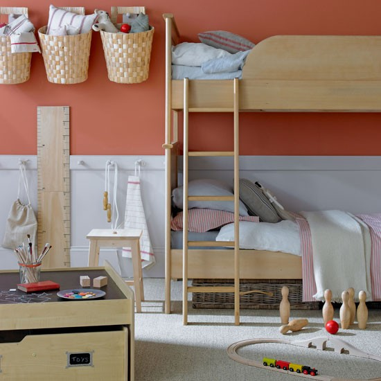 1 five tips for a childs room Simple country bedroom Five Tips for a Childs Room