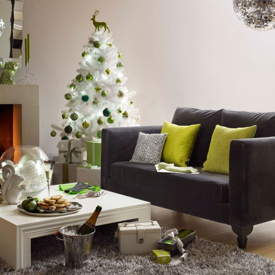 10 christmas trees 10 best Contemporary green and silver Christmas tree from Heals Christmas trees – 10 best