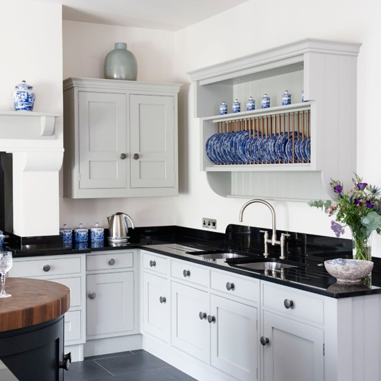 10 contemporary black and white kitchens ideas blue country