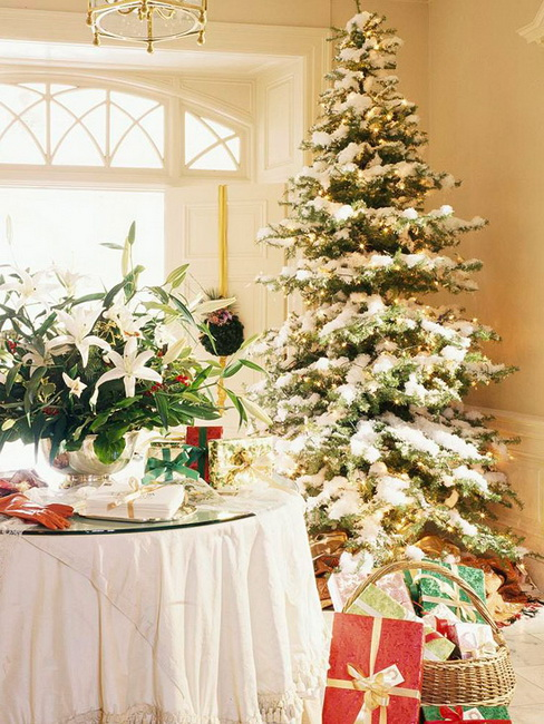 Decorating Ideas > TOP 10 Fresh Ideas For Christmas Tree Decorating ~ 135331_Christmas Decoration Ideas Snow