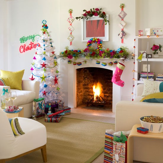 10 Best Christmas living room decorating ideas. | Home Interior ...