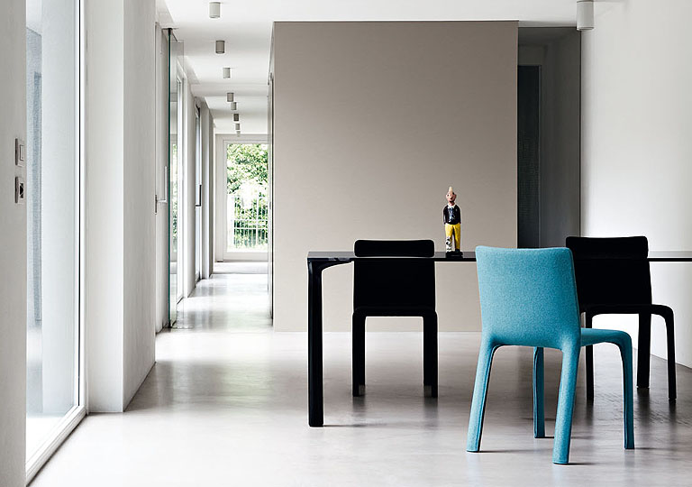 4 colourful joko chairs by bartoli design Joko Chair by Bartoli Design