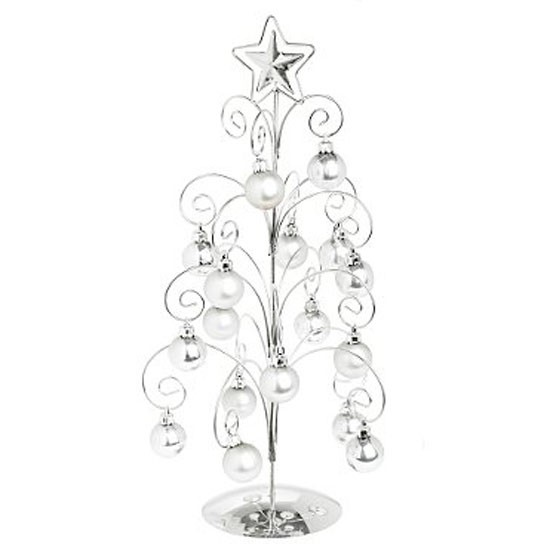 5 christmas trees 10 best Silver scroll metal tree Debenhams Christmas trees – 10 best