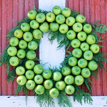 5 christmas wreaths for a holiday door Green Apple Creation Karácsonyi koszorú különlegességek