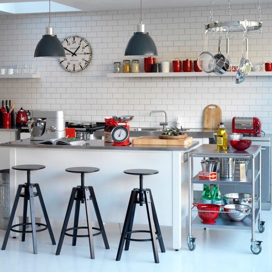 5-contemporary-black-and-white-kitchens-ideas-Industrial-chic ...
