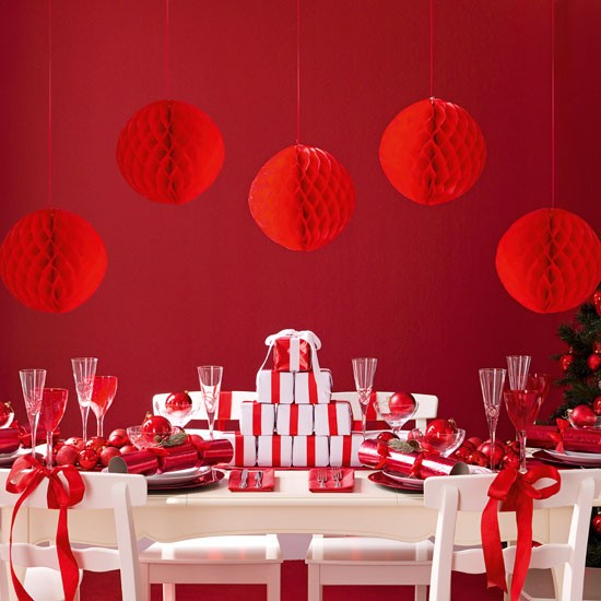 10 ideas for christmas dining room ruby red fire ice dining room