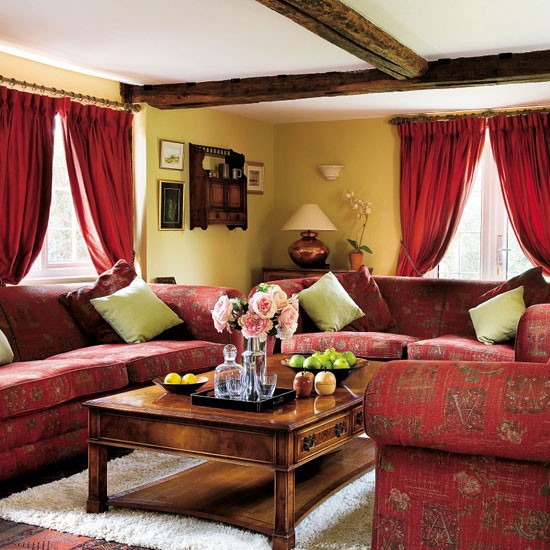Incredible Red Country Living Room Ideas 550 x 550 · 99 kB · jpeg