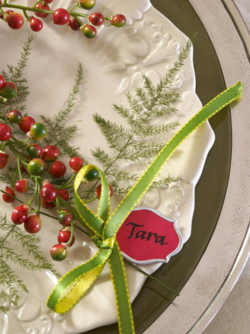 1 10 ideas how make a beautiful christmas table 10 Ideas how Make a Beautiful Christmas Table