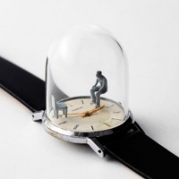Moments of Life in Watch Sculptures by Dominic Wilcox