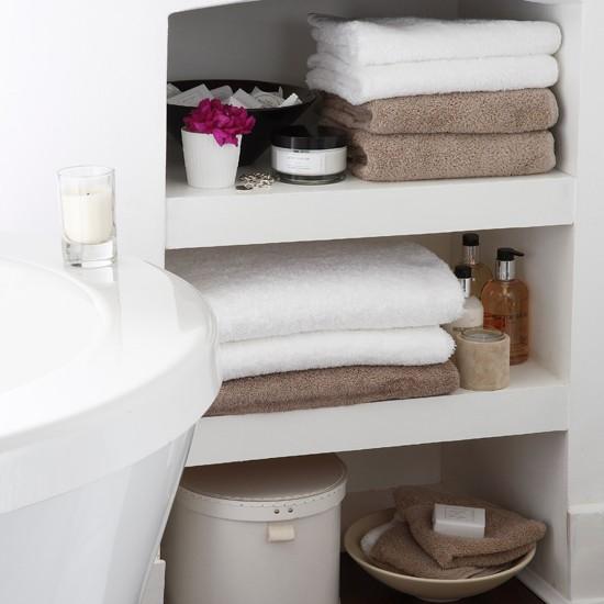 small bathroom shelving. bathroom shelving ideas Small storage area for bathrooms 2017  Grasscloth Wallpaper