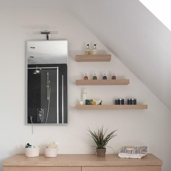 Bathroom Shelving Ideas Attic Bathroom Storage