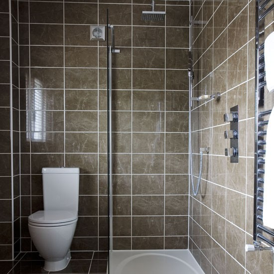 8-10-fresh-ideas-for-shower-room-Brown-gloss | Home Interior ...