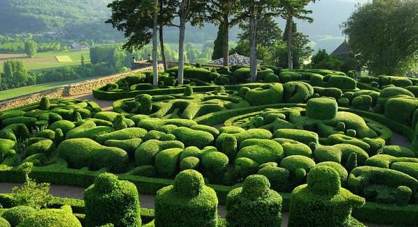 1 сurious gardens of marqueyssac Сurious Gardens of Marqueyssac