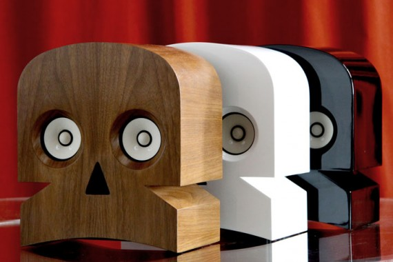 1 kuntzel deygas created a skull amplified speakers Kuntzel + Deygas Created a Skull Amplified Speakers
