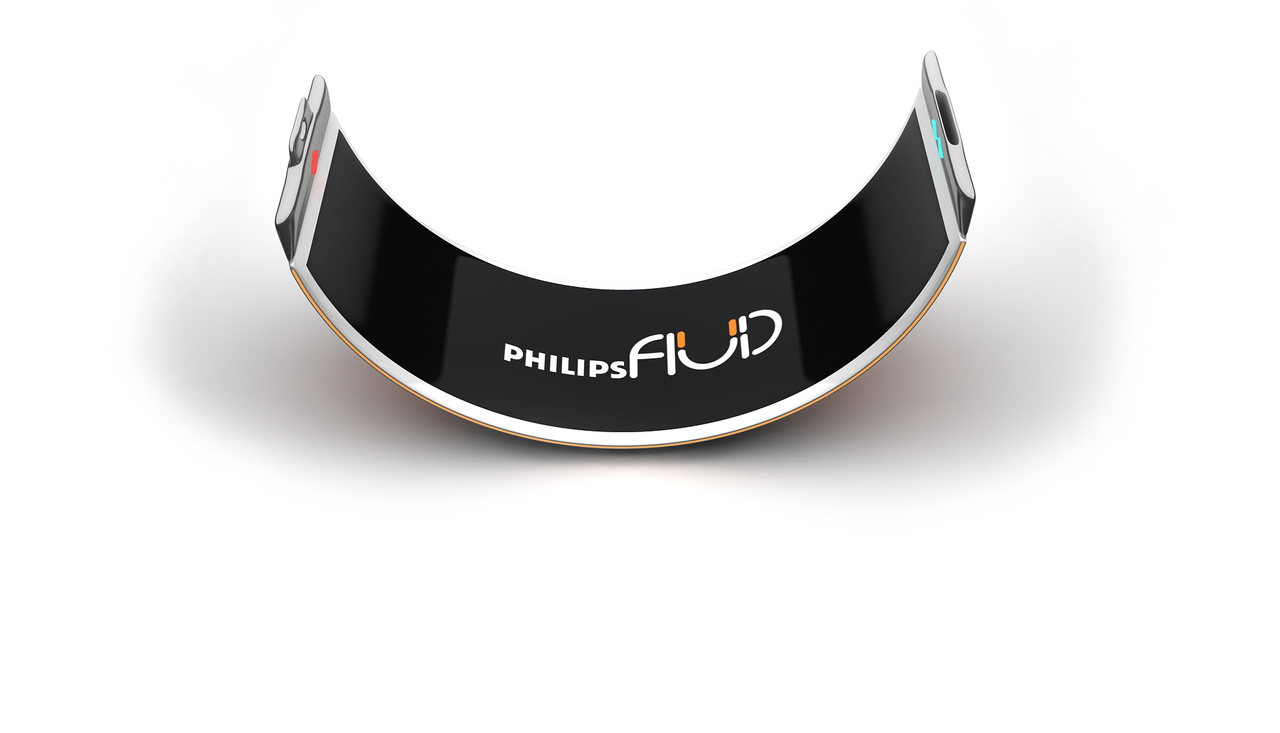4 concept smartphone fluid by philips Concept Smartphone Fluid by Philips