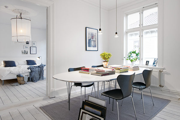 6-cozy-scandinavian-apartment | Home Interior Design, Kitchen and ...