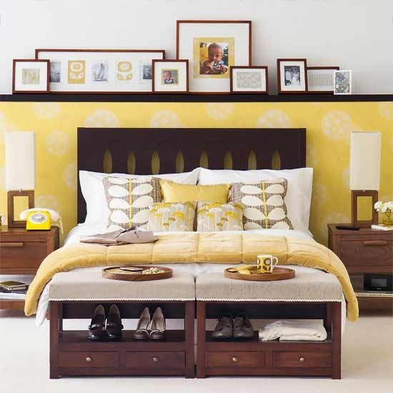 7-best-hotel-style-bedrooms-ideas-Chic-mellow-yellow-bedroom ...